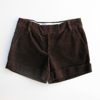 J Crew City Fit Corduroy Cuffed Shorts 4