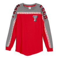 Texas Tech University Bling Varsity Crew - PINK - Victoria's Secret