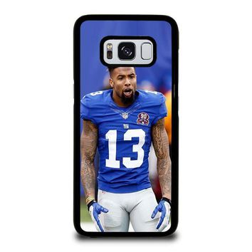 ODELL BECKHAM NY GIANTS Samsung Galaxy S3 S4 S5 S6 S7 Edge S8 Plus, Note 3 4 5 8 Case Cover