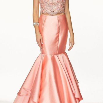 Gorgeous  2 piece mermaid prom dress 105-631
