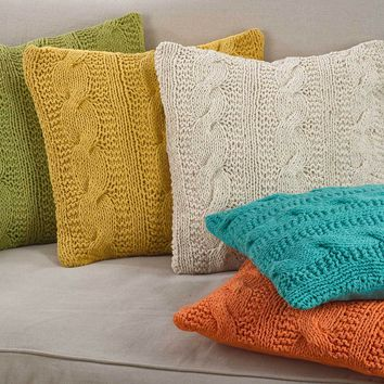 McKenna Cable Knit Pillow