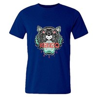 Mens T-shirts Kenzo Royal Blue
