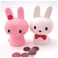 MochiThings.com: Lovely Rabbit Coin Bank