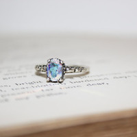 Opalescent Topaz Filigree in Sterling Silver  by moonkistdesigns