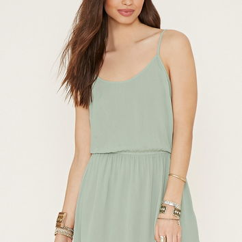Crinkled Crepe Cami Dress | Forever 21 - 2000185421