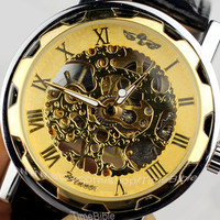 Charm men's watches, mechanical watches, leather watch - gifts for men