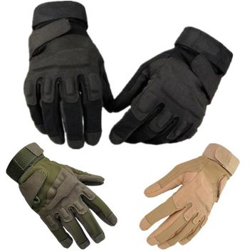 Men Military Tactical Shooting SWAT Airsoft Paintball CS Gloves Army Police Fight Combat Half Full Finger Black Green Mittens