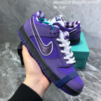 HCXX N1031 Concepts x Nike SB Dunk Low Purple Lobster Casual Fashion Sneaker