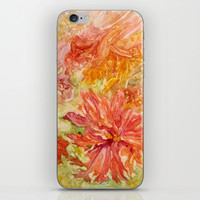 hello Hibiscus iPhone & iPod Skin by Rosie Brown