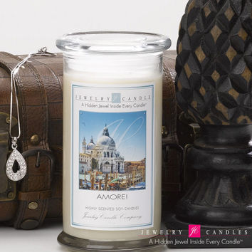 Amore Jewelry Candle