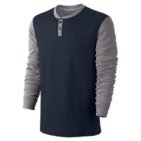 Hurley Orange Street Men's Henley Shirt