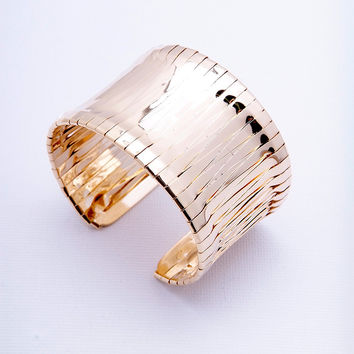 New Again Cuff Bracelet - Gold
