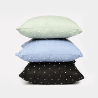 Dot Knot Throw Pillow