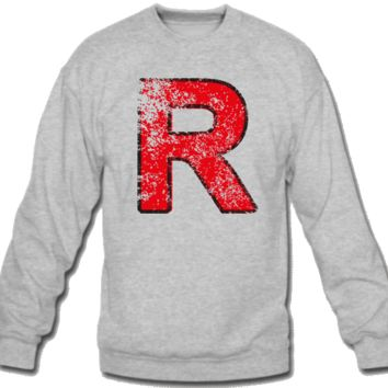 rocket Sweatshirt Crew Neck