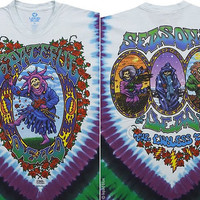 Grateful Dead  Longsleeve Tie Dye Shirt  Size XL   unisex girls guys SYF Furthur women