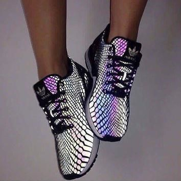 Fashion Adidas Chameleon Reflective Sneakers Sport Shoes-4