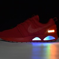 Nike Roshe Run Air Mag run LED Color Red 417744-604