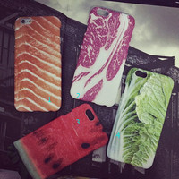 3D Food Case Cover for iPhone 5s 6 6s Plus Gift 241