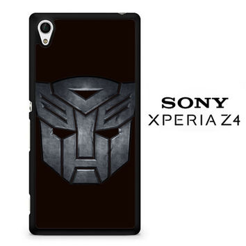 Transformers Autobots Icon Black F0242 Sony Xperia Z4 Case