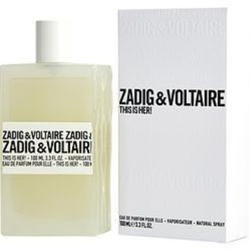 Zadig & Voltaire This Is Her! By Zadig & Voltaire