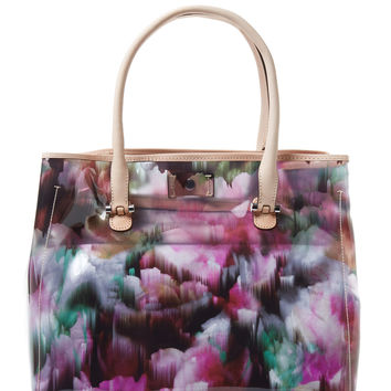 L.K. Bennett Women's Cannes Transparent Tote - Pink