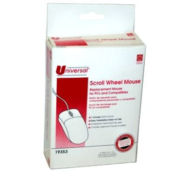 Universal Scroll Wheel Mouse