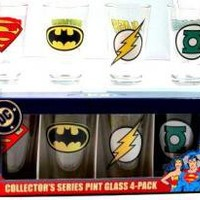 DC Comics, Glass Mug Set