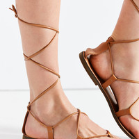 Leather Gladiator Sandal | Urban Outfitters