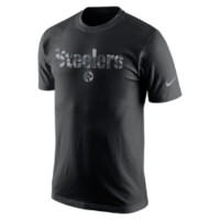 Nike Fly Over (NFL Steelers) Men's T-Shirt Size Small (Black)