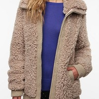 Pins and Needles Teddy Bomber Jacket
