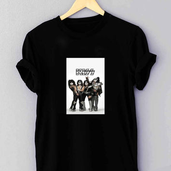 "Kiss 80 s Rock Heavy Metal Music Band Gene Simmons - T Shirt for man shirt, woman shirt ""01"""