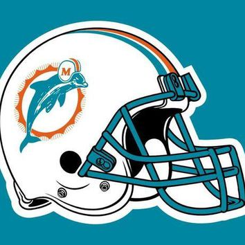 DCCKIHN N*FL USA flag Miami Dolphins Flag 3ft x 5ft Very Cool decoration Helmet Flag
