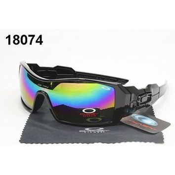 new mens oakley** oil rig sunglasses #18074