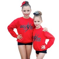 Crewneck Red Sweatshirt | ALDC
