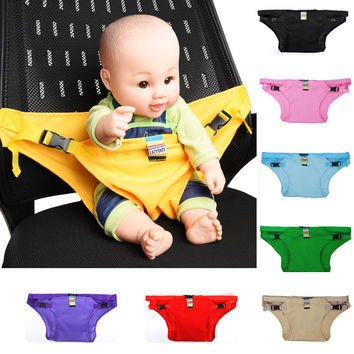 Baby Belt Stretch Wrap Harness Carrier Dining Belt Infant  Portable Seat Chair Safety Stretch Wrap Feeding Harness Booster