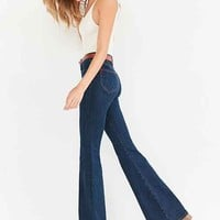 BDG Morrison High-Rise Flare Jean - Worn Blue