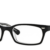 Ray-Ban RB5150 2034 50-19 RB5150 Black eyeglasses   Official Online Store US