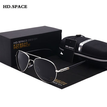 Polarized Sunglasses for Men Aviator Sunglasses Men for Driving Luxury Brand Coating mirror Sun Glasses male female Women