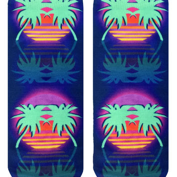 L.A. Paradise Night Ankle Socks