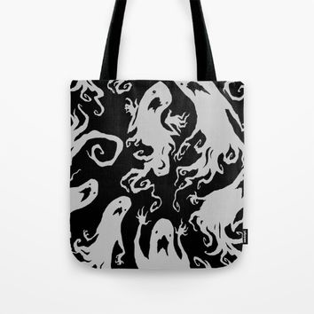 Ghosts! Tote Bag by Abigail Larson