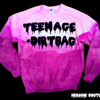Customizable Teenage Dirtbag Sweatshirt in by ShopHeroineCouture