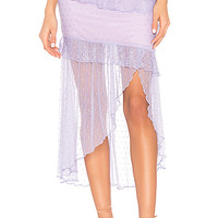 MAJORELLE Kinsley Midi Skirt in Amethyst Purple | REVOLVE