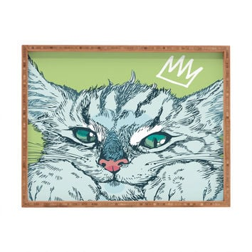 Geronimo Studio Cat Attack Rectangular Tray