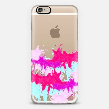 Paint Explosion - Pink Purple Teal iPhone 6 case by Love Lunch Liftoff | Casetify