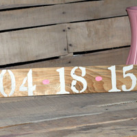 Rustic Wedding Sign Save The Date Sign Engagement Sign Wedding Couples Signs Rustic CUSTOM Reclaimed Wood Country Wedding Shabby Chic Decor