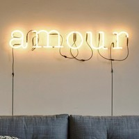 Amour Neon Light