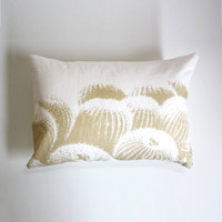 Comforting Cacti Pillow - Natural