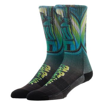 Pair of Parzival Victory Athletic Socks, Sublimated Crew Sock Ready Player One