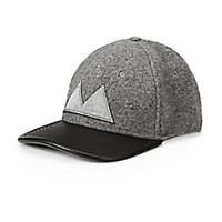 Marc by Marc Jacobs - Wool & Leather Baseball Hat - Saks Fifth Avenue Mobile