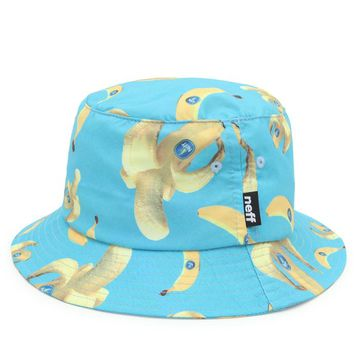 Neff Bananas Bucket Hat - Mens Backpack - Banana - One
